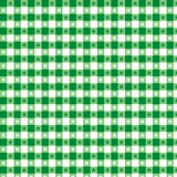 green pattern seamless tablecloth Стоковые Изображения RF