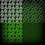 Green pattern Royalty Free Stock Image