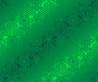 Green pattern on the wrapping paper. Royalty Free Stock Photo