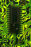 Green PCB Stock Photo
