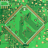 The Green PCB Royalty Free Stock Image