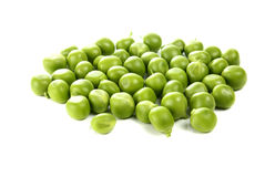 Green pea. Isolated on white background Royalty Free Stock Image