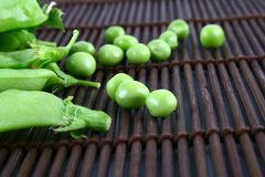 Green pea stock photos