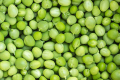 Green Pea background Stock Photo