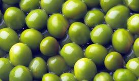 Green pea background Stock Photo