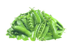 Green pea isolated on white Stock Image