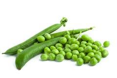 Green pea pod, green peas Royalty Free Stock Photo