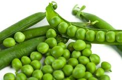 Green pea pod, green peas Stock Photos