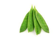 Green pea pods Stock Photos