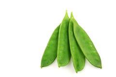 Green pea pods Stock Photos