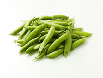 Green pea pods Royalty Free Stock Image