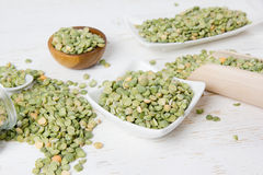 Green Pea Seeds Royalty Free Stock Image