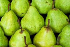 Green pear background Royalty Free Stock Images