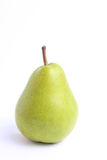 Green pear isolated Stock Photos