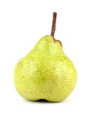 Green pear isolated on a white Stock Photography