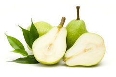 Green pears Stock Photo