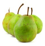 Green pears Royalty Free Stock Photo