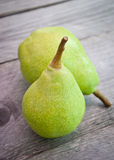 Green Pears Royalty Free Stock Photos