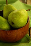 Green pears Royalty Free Stock Photography