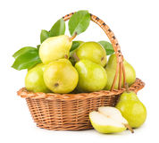 Green pears Stock Photography