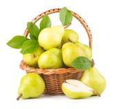 Green pears Royalty Free Stock Photos