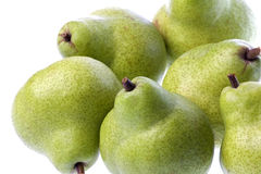 Green Pears Isolated Royalty Free Stock Photo