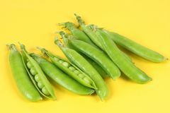 Green peas Stock Photos