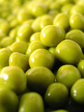 Green peas. Background Stock Photo