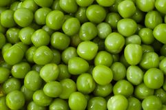 Green peas. Close-up of green peas Stock Photos