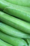 Green peas. Close-up of fresh green peas Royalty Free Stock Photo