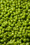 Green Peas Background Stock Images