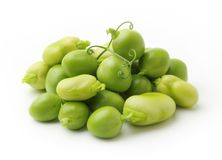 Green peas and beans Stock Photography