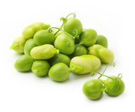 Green peas and beans Royalty Free Stock Images