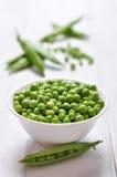 Green peas Royalty Free Stock Photo