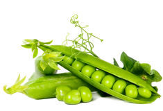 Green peas, food concept Royalty Free Stock Images