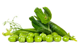 Green peas, food concept Royalty Free Stock Photos