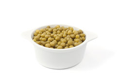 Green Peas In A Dish Stock Image