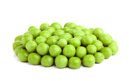 Green peas isolated. Stock Photos