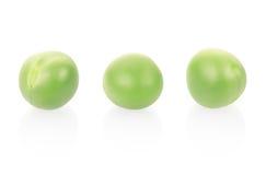 Green peas macro Royalty Free Stock Photos