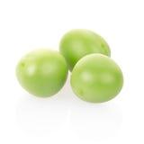 Green peas macro Stock Photos