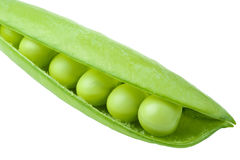 Green peas Royalty Free Stock Images