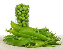 Green peas Royalty Free Stock Photos