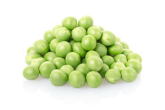 Green peas pile Stock Photo