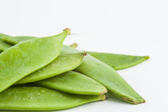 Green peas Pisum sativum Stock Photo