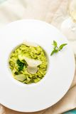 Green Peas risotto Royalty Free Stock Images