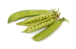 Green peas Royalty Free Stock Photography
