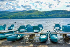 Free Green Pedalos In National Park Royalty Free Stock Images - 76586469
