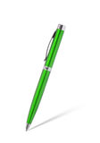 Green pen isolated on white Stock Photography