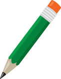 Green Pencil Stock Photo
