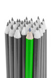 Green pencil Royalty Free Stock Image